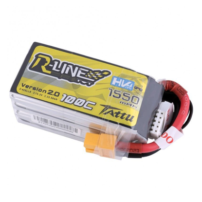 Picture of Tattu R-line 1550mah 4s 100c